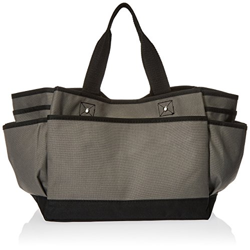 Professional Tote Bag, Grey (Deluxe Organizer Tote Bag)