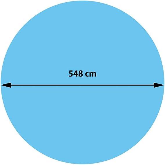 Mendler Rev/êtement pour Piscine//Pool /épaisseur: 400 /µm ~ Ovale 7,31x3,65m Noir b/âche Thermique