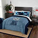 The Northwest Company Officially Licensed NCAA North Carolina Tar Heels Modern Take Full/Queen Comforter and 2 Sham Set