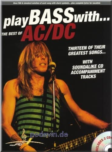 Play Bass With The Best Of AC/DC – Bass Guitarra Partituras ...