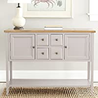 Safavieh American Homes Collection Charlotte Quartz Grey Sideboard