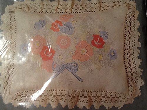 Pastel Floral Pillow Candlewicking Kit, 12
