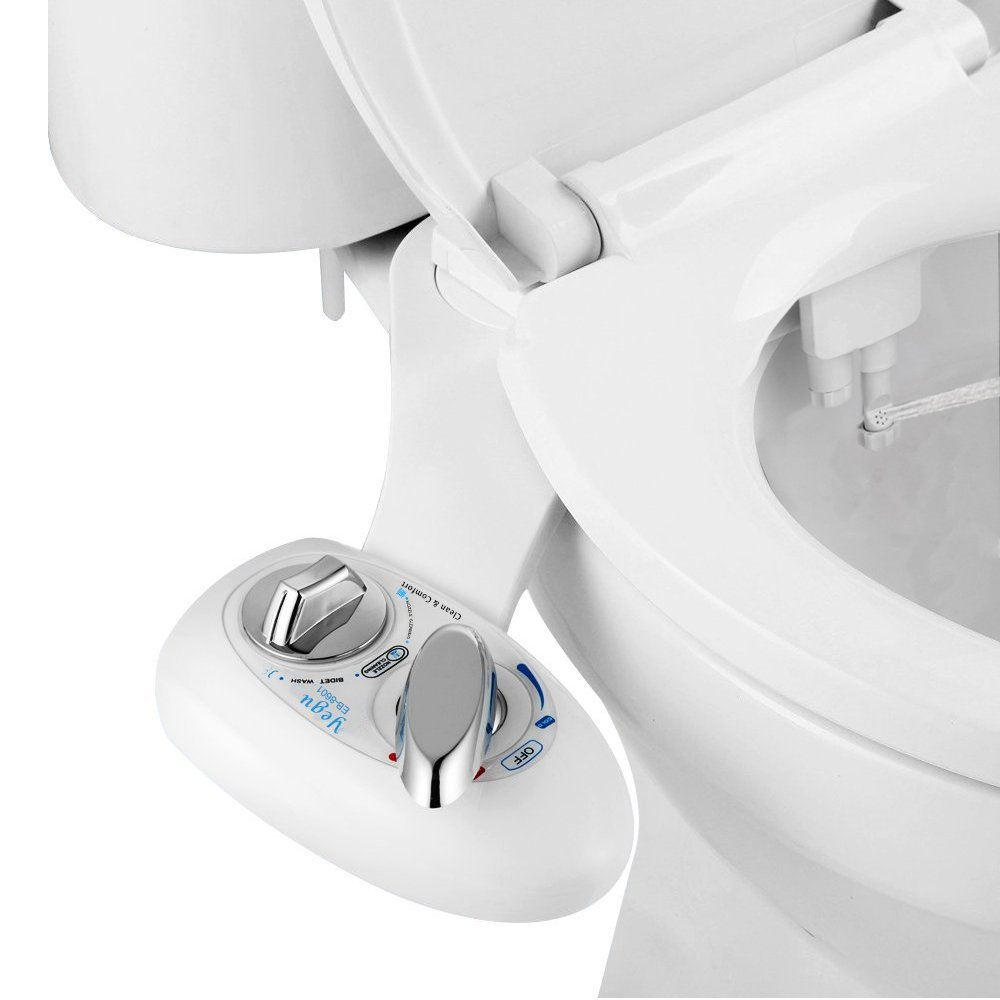 YEGU Bidet, EB 8601 Self Cleaning Dual Nozzle Hot And Cold Water ...