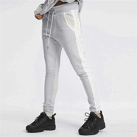 IOAAD Pantalones Deportivos Pantalones de chándal de algodón para Hombres ce07b22eafa3