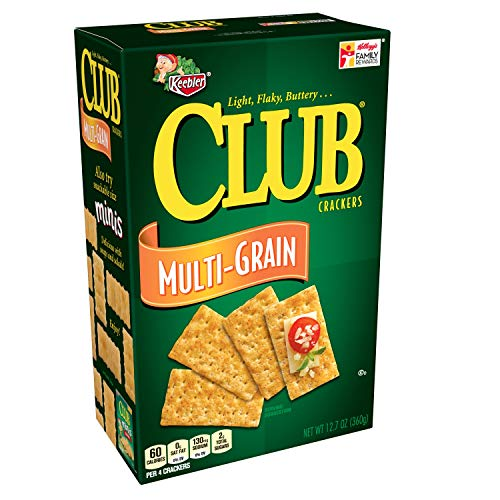 Keebler Club Crackers, Multi-Grain, 12.7 oz Box