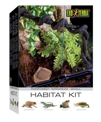 (Exo Terra PT2660A1 Rainforest Habitat Kit, Small)