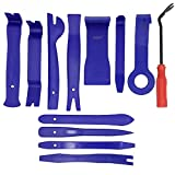 ZIQIAO 12pcs Auto Radio Panel Interior Door Clip Panel Trim Dashboard Removal Tool Set DIY Car Repair Tool Kit