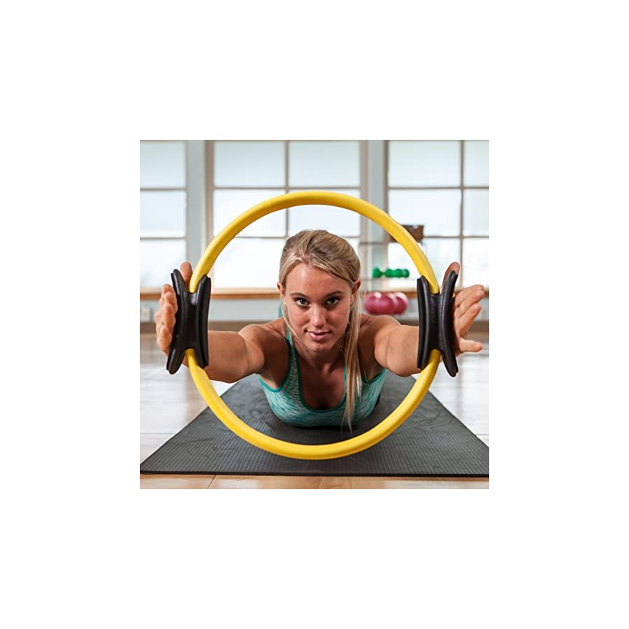 Pilates Ring Premium Power Resistance Full Body Toning Fitness Circle
