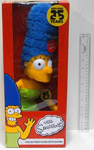Simpsons Marge 25th Anniversary Collectible Plush with Sound