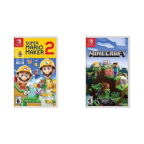 Super Mario Maker 2 – Nintendo Switch Bundle with Minecraft – Nintendo Switch