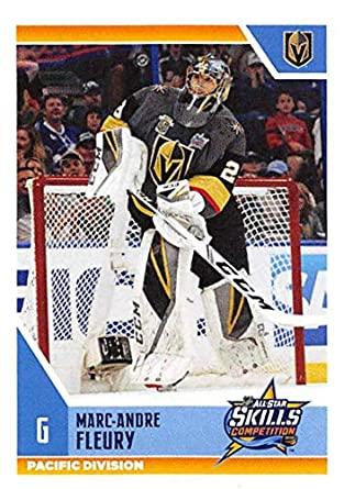 2018-19 Panini NHL Stickers Hockey  522 Marc-Andre Fleury Vegas Golden  Knights c200d4f88