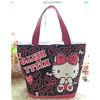 866edb9ed2 Amazon.com  CJB Sanrio Hello Kitty Lovely Multipurpose Lunch Bag ...