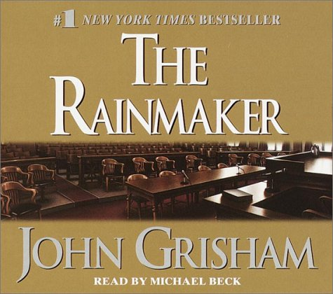 an analysis of the rainmaker by john grisham The rainmaker, 1995, john grisham a rookie lawyer just out of law school, barely received his law license, takes on a huge multi-million dollar insurance corporation, suing them for wrongdoing.