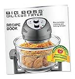 Big Boss Oil-less Air Fryer, 16 Quart, 1300W, Easy