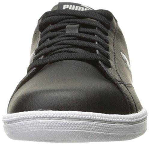 Puma Mannen Smash Kat L Fashion Sneaker Puma Zwart Grijs Violet