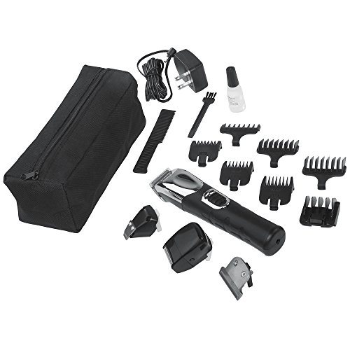 wahl lithium ion all in one grooming kit 9854 600 in the. Black Bedroom Furniture Sets. Home Design Ideas