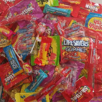 Fruit Flavored Candy Assorted 5 lb Bulk Mix of Chewy and Hard Candies Favorites