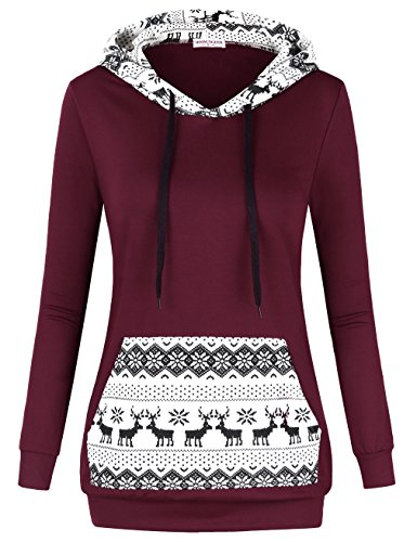 Reindeer Kangaroo Christmas Sweatshirts