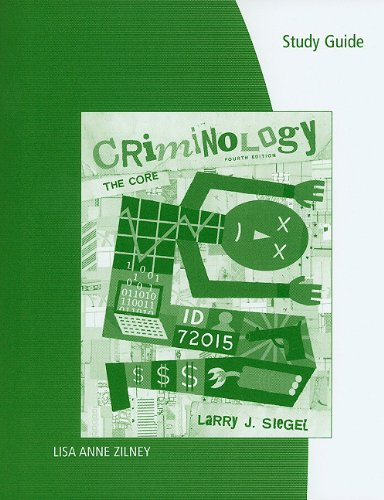 Criminology, the Study of Crime, Causes, and Consequences
