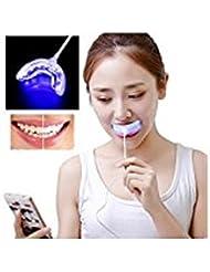 Mchoice Dental Whitening Kit Teeth USB Charging Whitening Instrument 2PCS Whitening Gel
