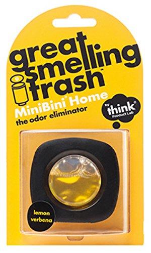 Think Product Lab Minibini Dustbin Rubbish Bin Antibac Odour Eliminator Air freshener Citrus Grove