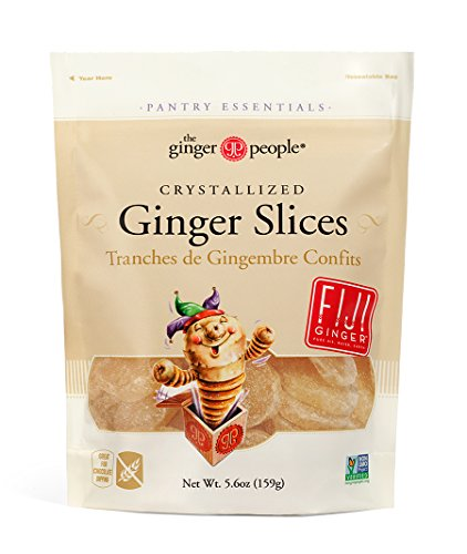 Ginger Slices (The Ginger People Crystallized Ginger Slices, 5.6 Ounce)