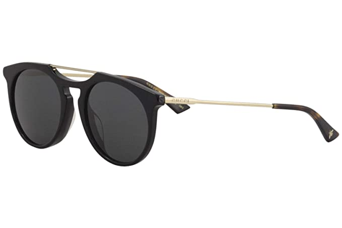 Gucci Gafas de Sol GG0320S BLACK/GREY hombre: Amazon.es ...