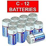 Best C Batteries - ACDelco C Super Alkaline Batteries, 12-Count Review