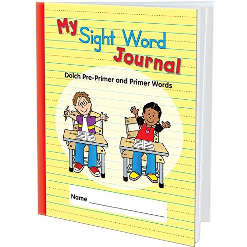 My Sight Word Journal: Dolch Pre-Primer And Primer Words