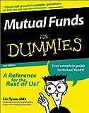 Mutual Funds, Eric Tyson, 0764551124