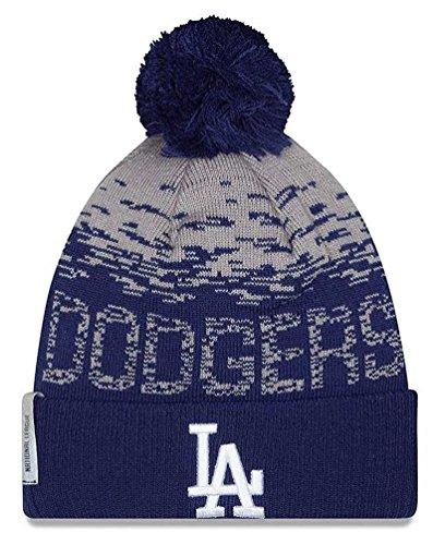 MLB Los Angeles Dodgers Headwear, Royal/Grey, One Size (Dodgers Royal Blue Wool)