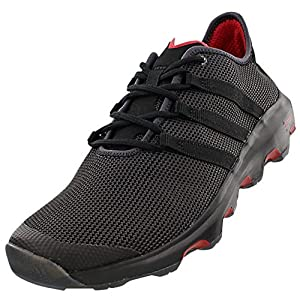 adidas Outdoor Climacool Voyager Boat Shoe - Men's Shadow Black/Black/Power Red 9.5