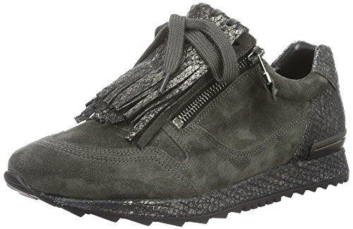 Schmenger Zapatillas anthracite Runner Kennel Gris und Grau grey Mujer Schuhmanufaktur Sohle grey 447 wx8wIqZ