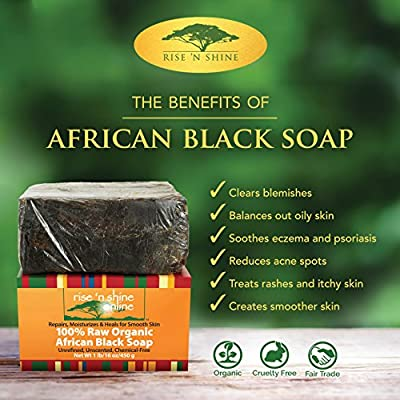 African Black Soap Parent from Rise 'N Shine Online