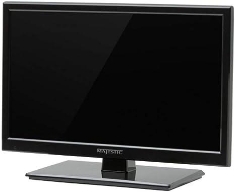 Majestic Version - Televisor LED HD de 19 pulgadas (12 V, 12 V, con DVD): Amazon.es: Deportes y aire libre
