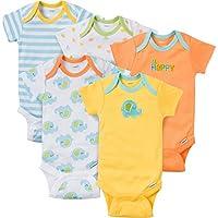 Gerber Baby-Boys Variety Onesies Brand Bodysuits, Monsters, Newborn (Pack of ...
