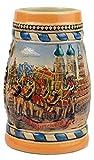Essence of Europe Gifts Munchen Oktoberfest Engraved Beer Stein German Oktoberfest in Munich Scene