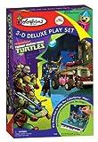 Colorforms 3D Deluxe Playset Teenage Mutant Ninja Turtles Sticker Kit