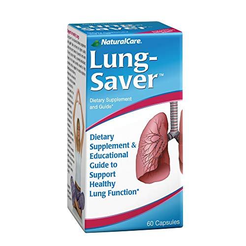 NaturalCare LungSaver for Healthy Clear Lungs, 60  Capsules