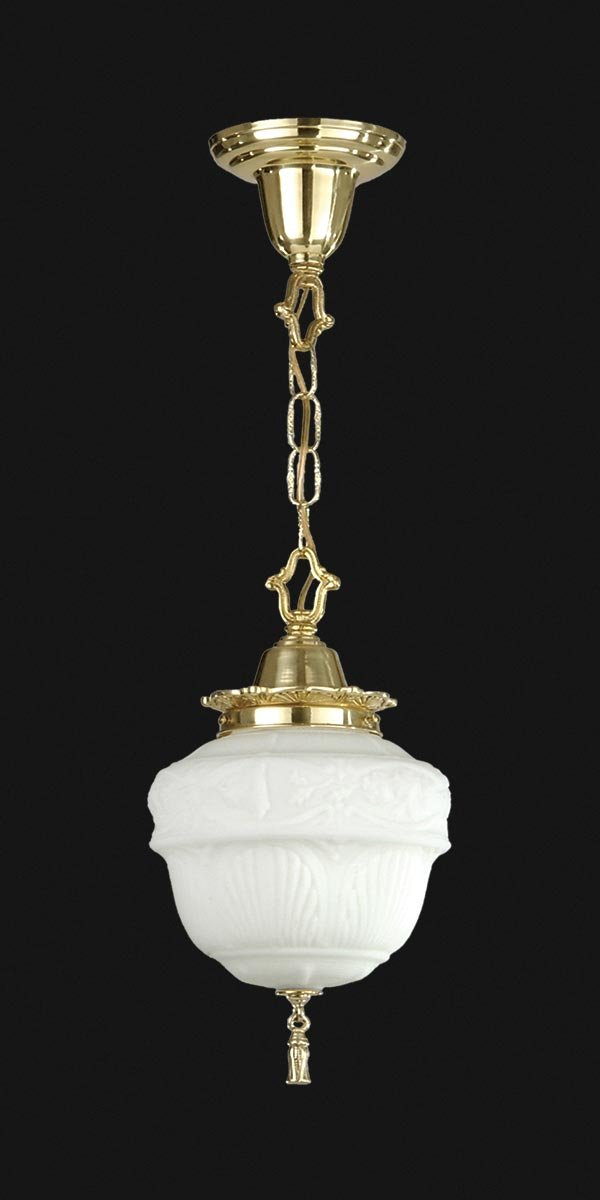 B&P Lamp Colonial Revival Style Chain Pendant by B&P Lamp