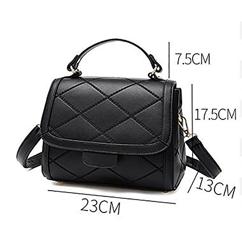 Simple For Wild Women Square Small Handbag Package Small Lingge Bag Crossbody Bags Messenger A Women's UBPwxqHEB