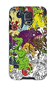 Dustin Mammenga's Shop Christmas Gifts Hot Tpu Cover Case For Galaxy/ S5 Case Cover Skin - Artistic