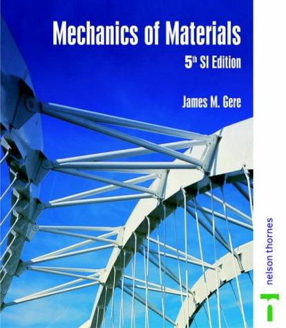 Mechanics of Materials - 5th SI Ed NO US RIGHTS