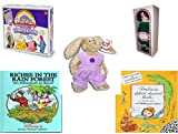 Girl's Gift Bundle - Ages 6-12 [5 Piece] - Cranium Turbo Edition Game - Springtime Victorian Ladies By Elsie Massey - TY Attic Treasure Iris The Bunny - Riches in the Rain Forest: An Adventure in Br offers