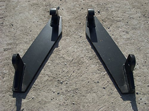 (Quicke Euro Tractor Attachment Weld on Mounting Brackets Pieces)