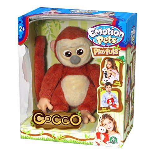 Ceppiratti 30270 Plush Monkey with Movements Ass. Playful