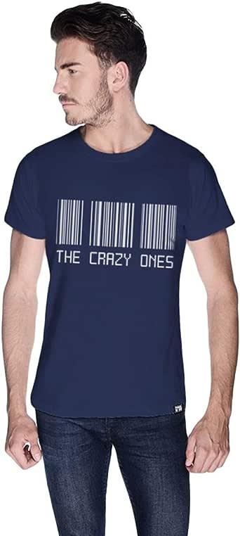 Creo Cotton Round Neck T-Shirt For Men