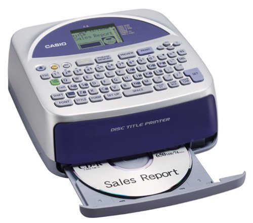 Casio Cw 50 Ribbon (Casio Disc Title Printer with Qwerty keyboard (CW-75))