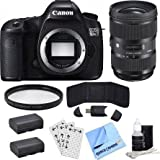 buydirect Canon EOS 5DS DSLR Camera Body with EF 135mm f/2L USM LensCanon EOS 5DS R 50.6MP Digital SLR Camera (Body Only) & Sigma 24-35mm Lens Supreme Bundle
