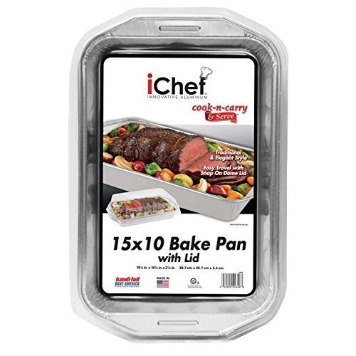 Ichef Cook-n-carry & Serve Bake Pan With Lid